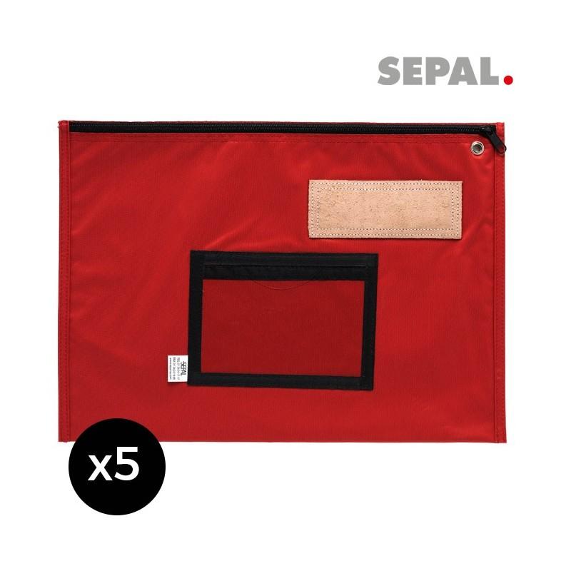 Pochette navette courrier  plate - 450x350