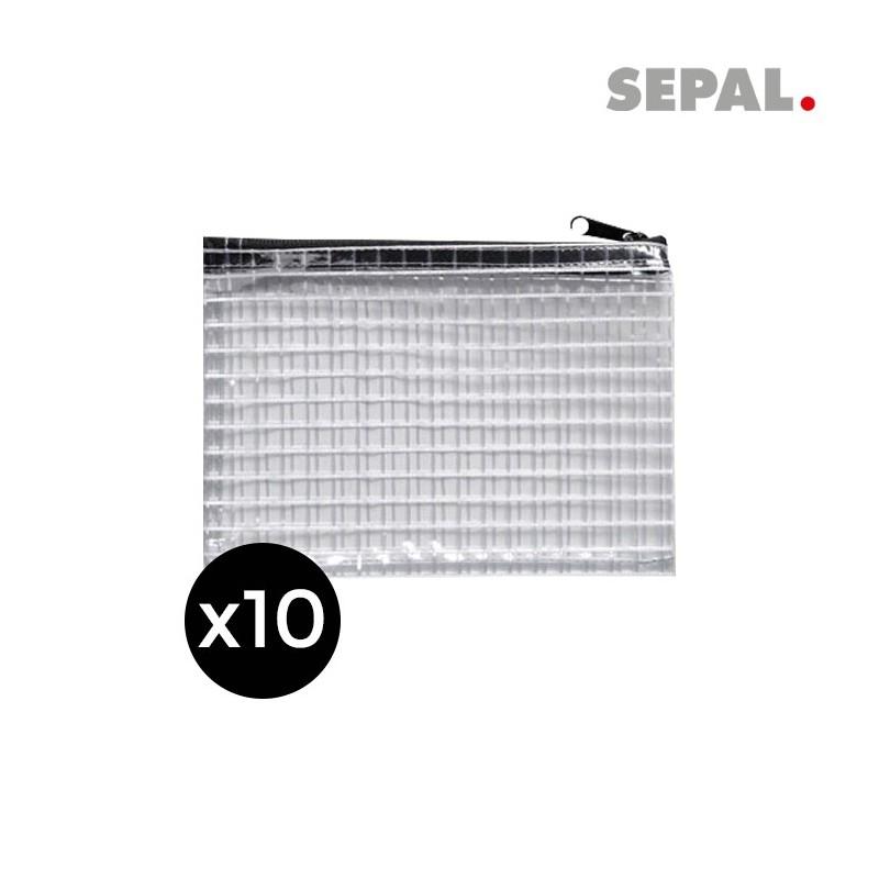 SACOCHE POUR CLES SECURISABLE 210x110x30mm