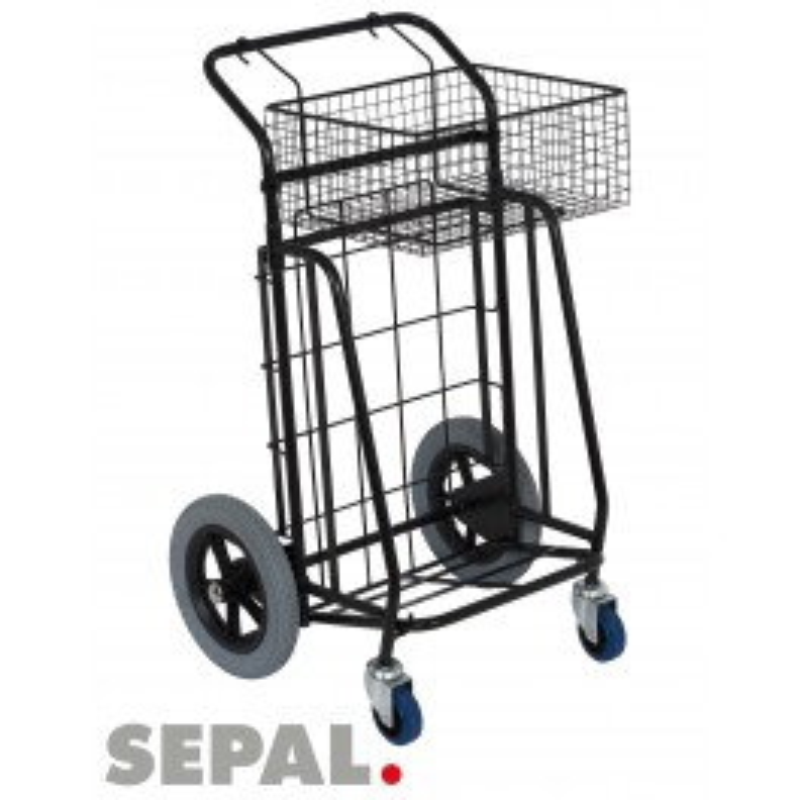 chariot-distribution-journaux-flyers-panier-grandes-roues-sepal