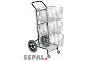 Chariot-transport-courrier-2-grandes-roues-3-paniers-sepal