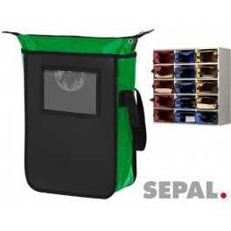 Sacoche-navette-courrier-9543-L280xP380xH200mm-vert-sepal