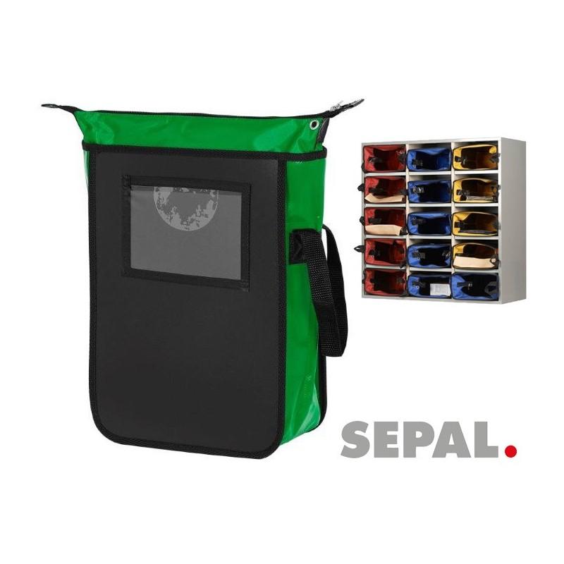 Sacoche-navette-courrier-9583-L280xP380xH100mm-vert-sepal