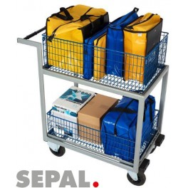 Chariot-courrier-3-paniers-gros-volumes-SEPAL